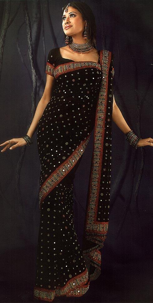 Фото сари как одевать